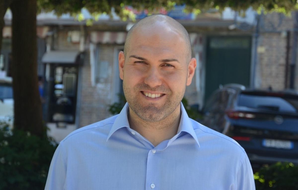Il consigliere di minoranza Nicola Palombo